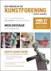 Plakat, kunstforeningen